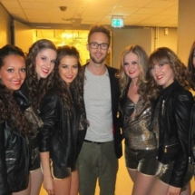 The Broadcast Dancers met Charly Luske